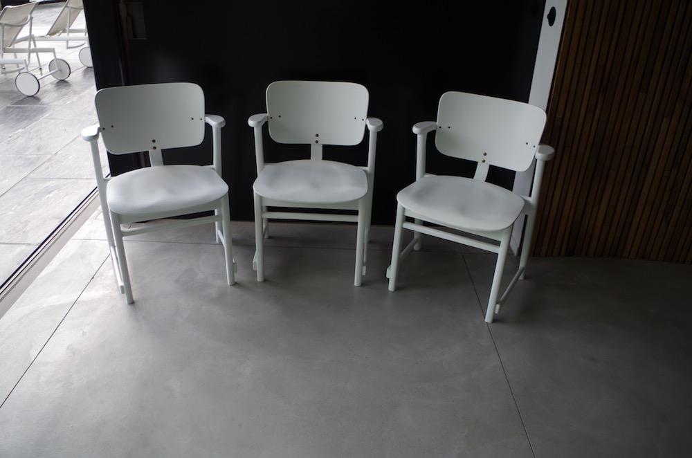 vintage Domus dining chairs by Ilmari Tapiovaara
