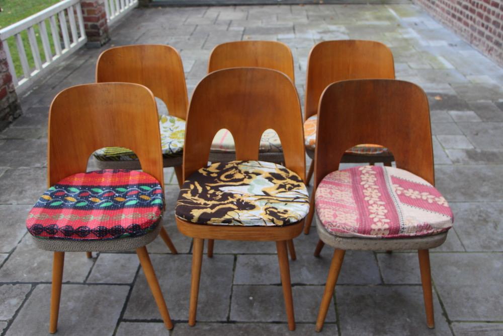 Oswald Haerdtl vintage chairs for Tatra
