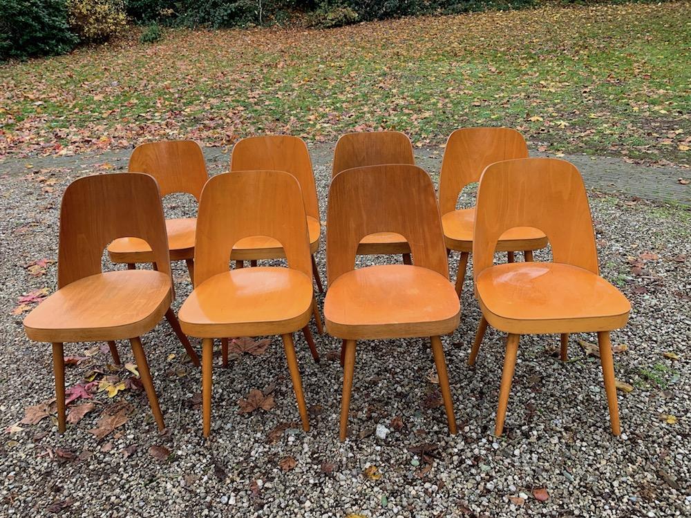 vintage chairs, oswald haerdtl, european design, vintage furniture, dining chairs, vintage dining chairs, wooden chairs, wooden dining chairs, Thonet