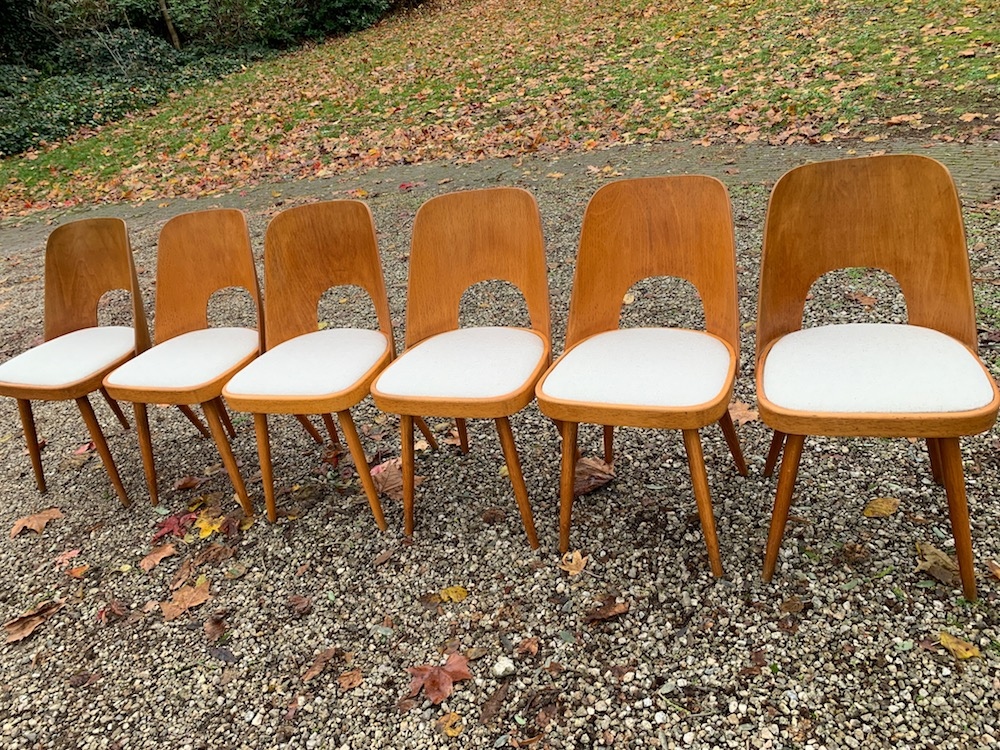 Oswald Haerdtl, wooden chair, vintage chairs, design chairs, midcentury modern chairs, European design, Thonet, chaise vintage, chaises design, chaises bois, dining chairs