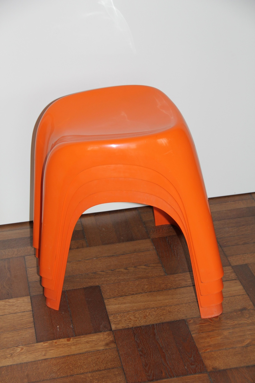 Stools by Giorgina Castiglioni for Bilumen