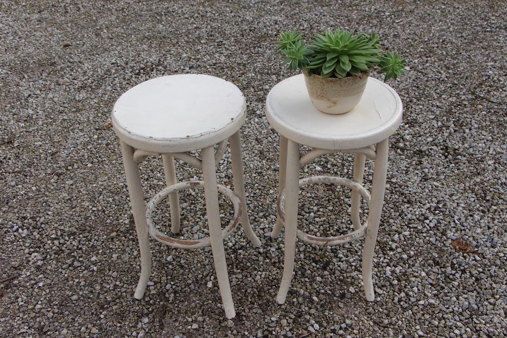 vintage bar stools, Thonet style