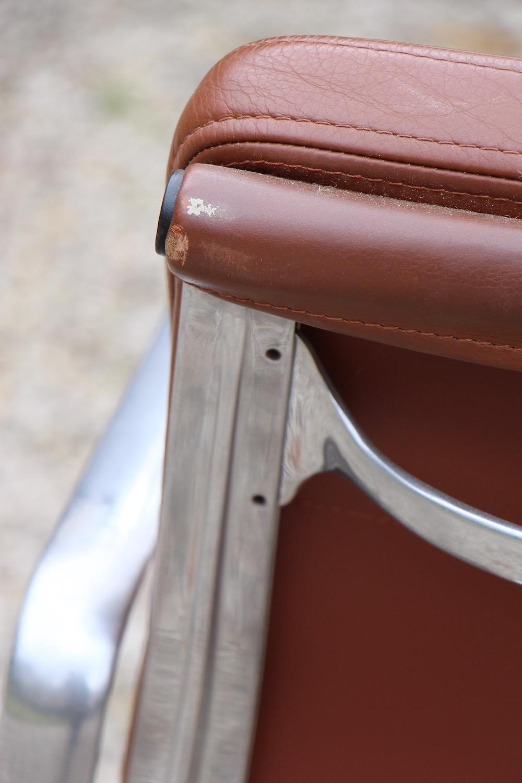 Eames desk chairs, soft pad, vintage