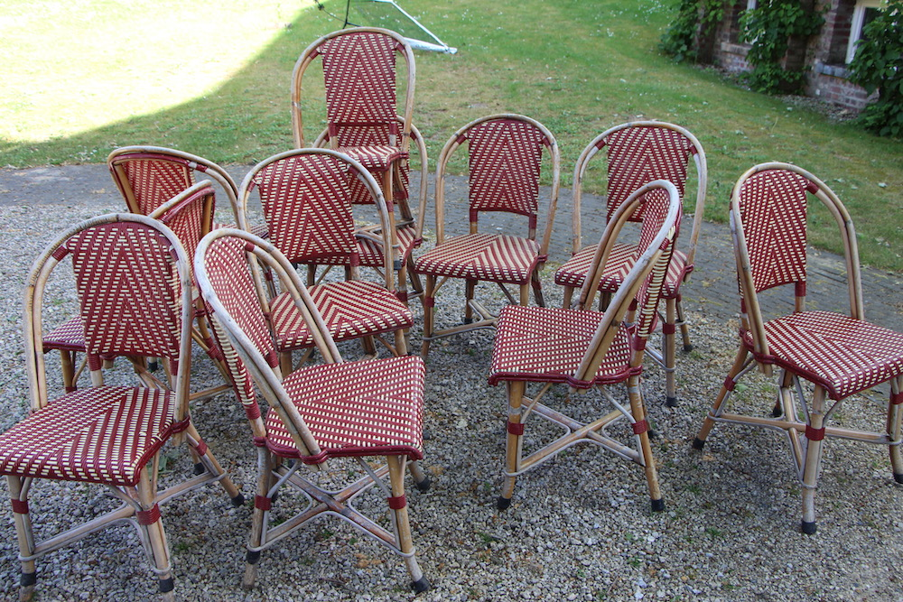 J.Gatti chairs, vintage, outdoor chairs, patio