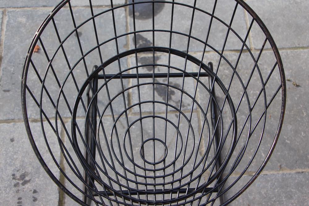 Pastoe vintage wire stool by Cees Braakman