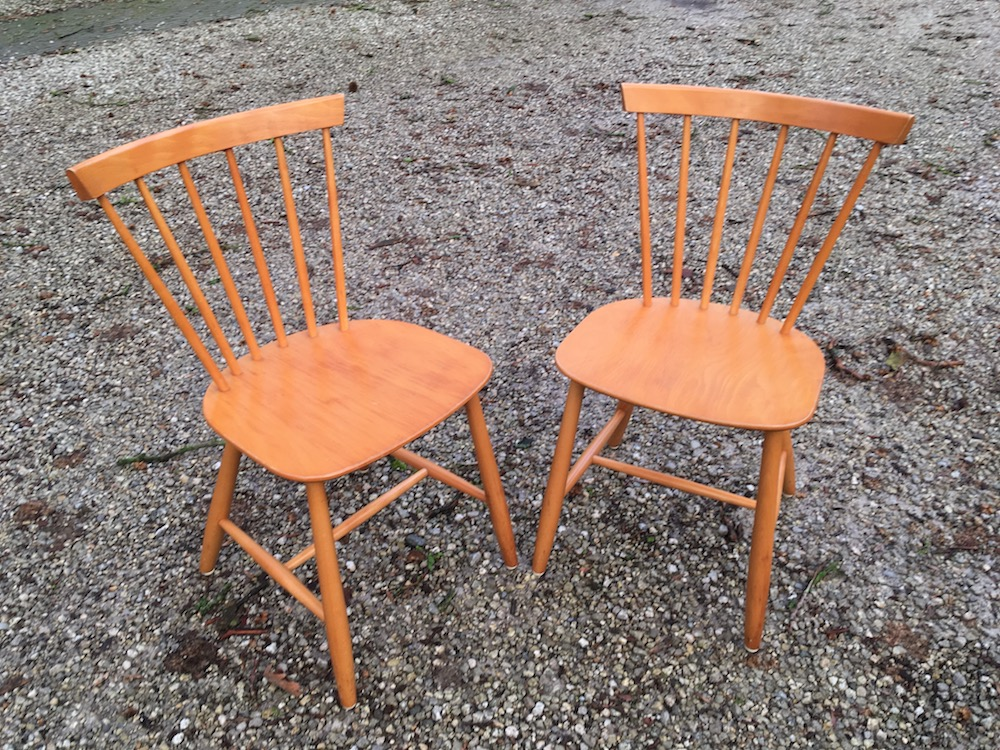 Poul Volther, Scandinavian design, Danish design, Danish chairs, spine chairs, wooden chairs, vintage chairs