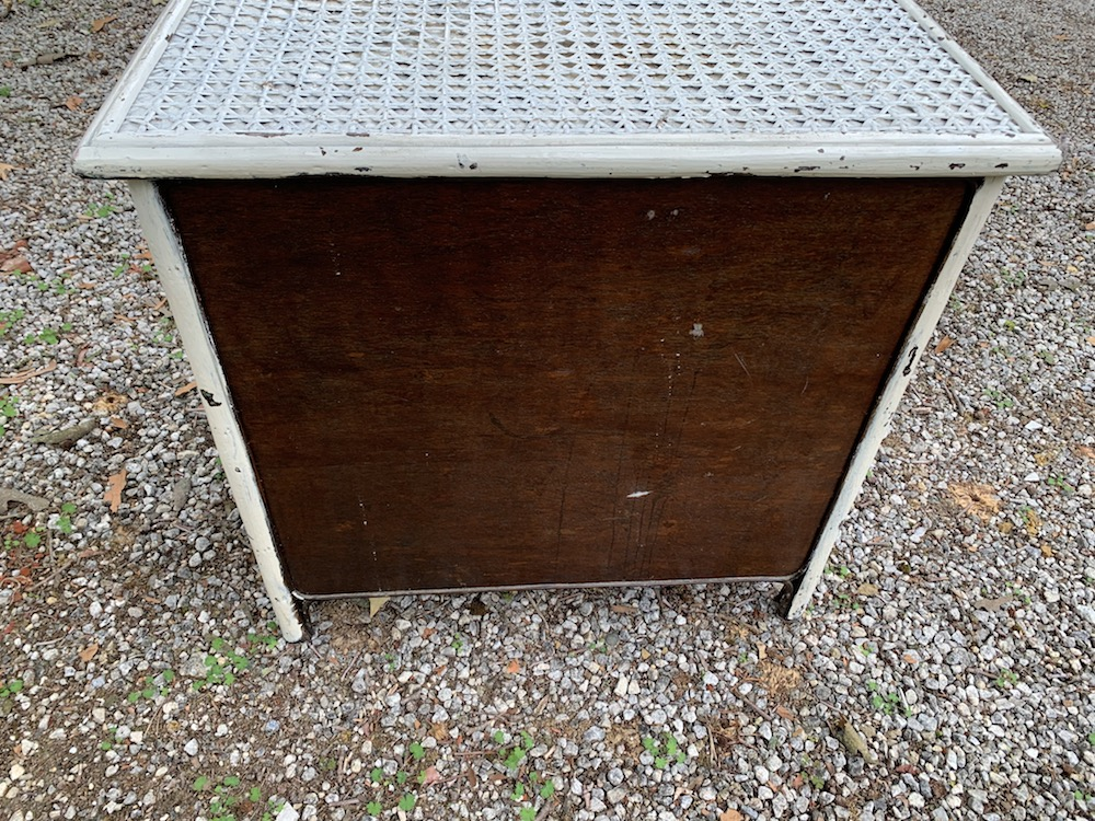 commode rotin, meuble rotin, rattan chest of drawers, vintage chest of drawers, vintage furniture, mobilier vintage