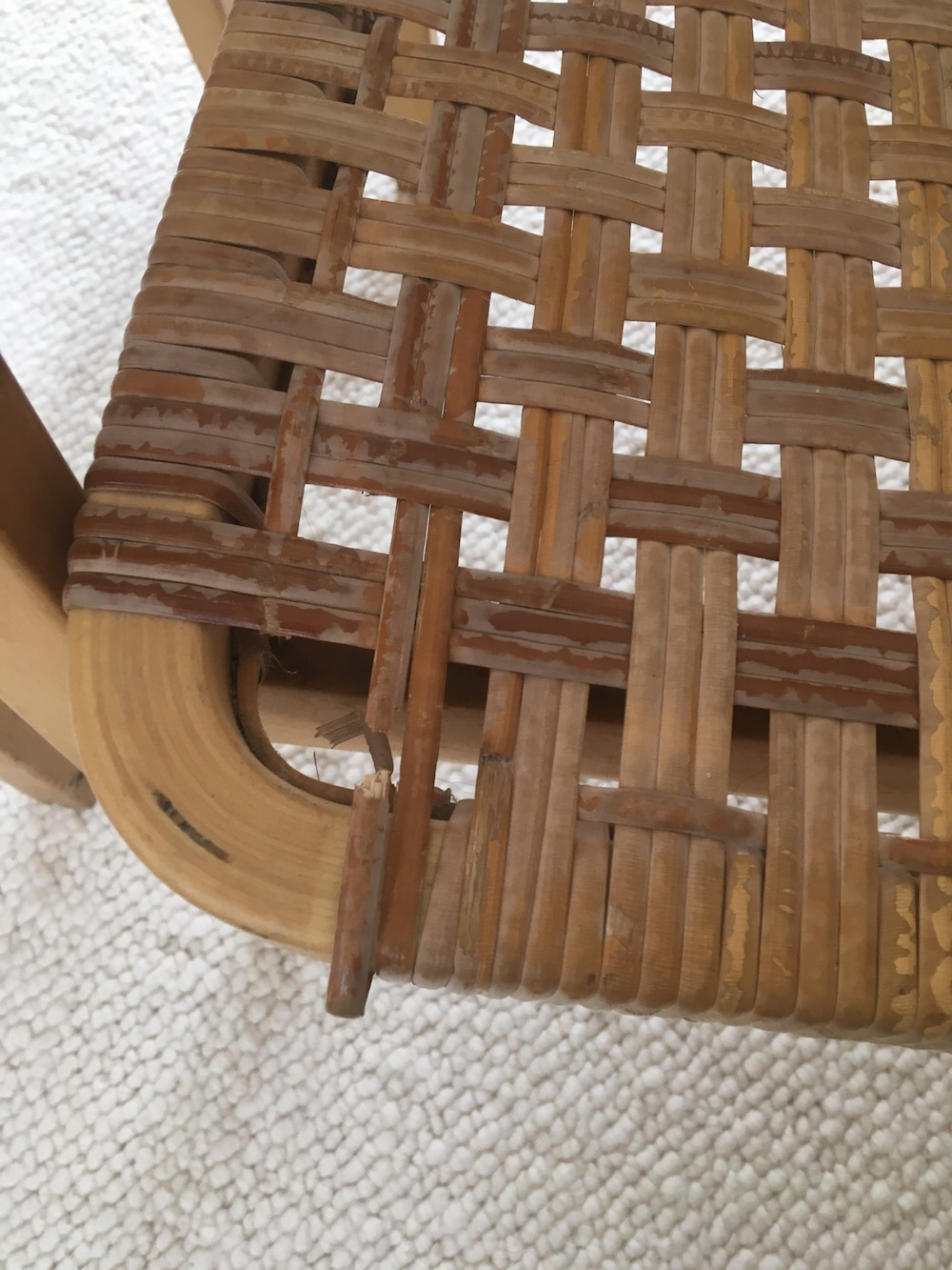Alvar Aalto, Artek, vintage lounge chairs, Alvar Aalto 45 chair, lounge chairs