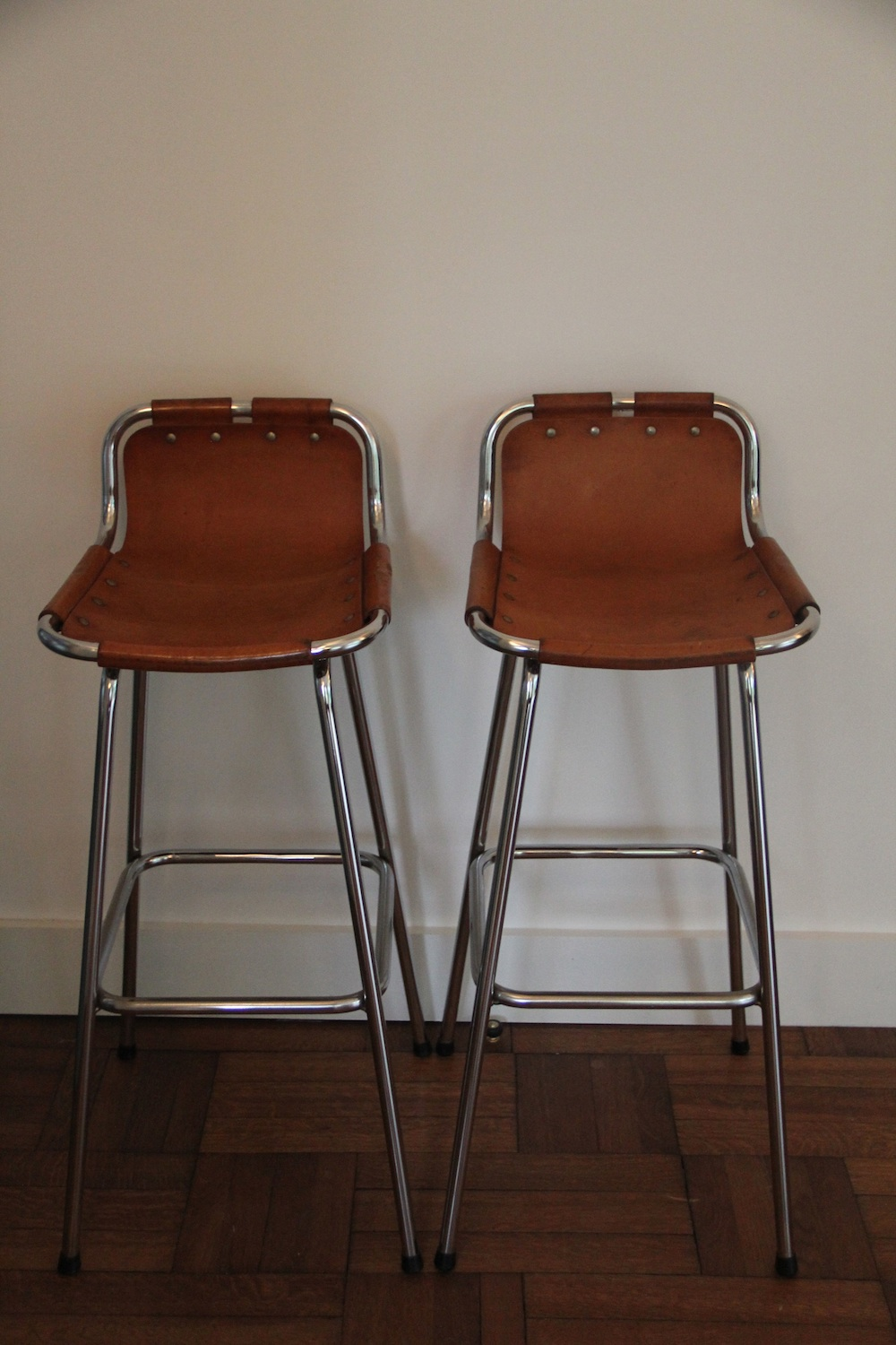 Charlotte perriand stools nicechairs - Etagere charlotte perriand ...