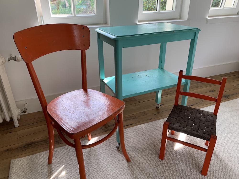 brocante, meuble de rangement vintage, rope chairs, meuble de rangement salle de bain, meuble de rangement peint