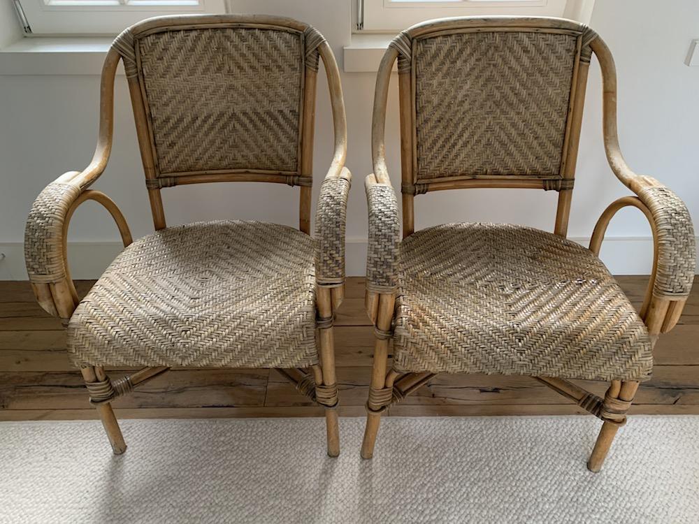 rattan chairs, chaises rotin, chaises vintage, vintage chairs, chairs with a soul, chaises anciennes, chaises en rotin, chaises de campagne, countryside chairs, old chairs, lounge chairs, rattan, mobilier vintage, belles chaises, original chairs