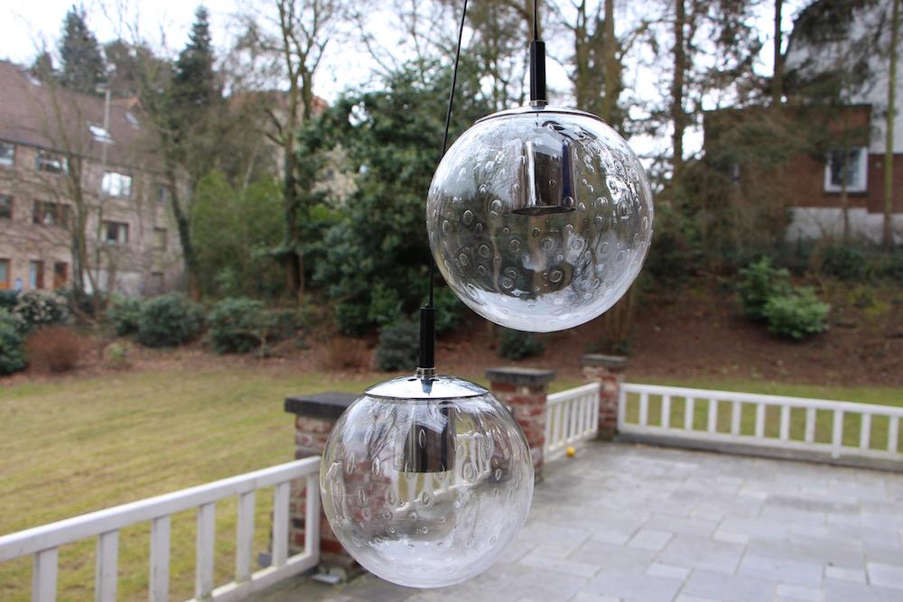 Vintage Raak hanging globes