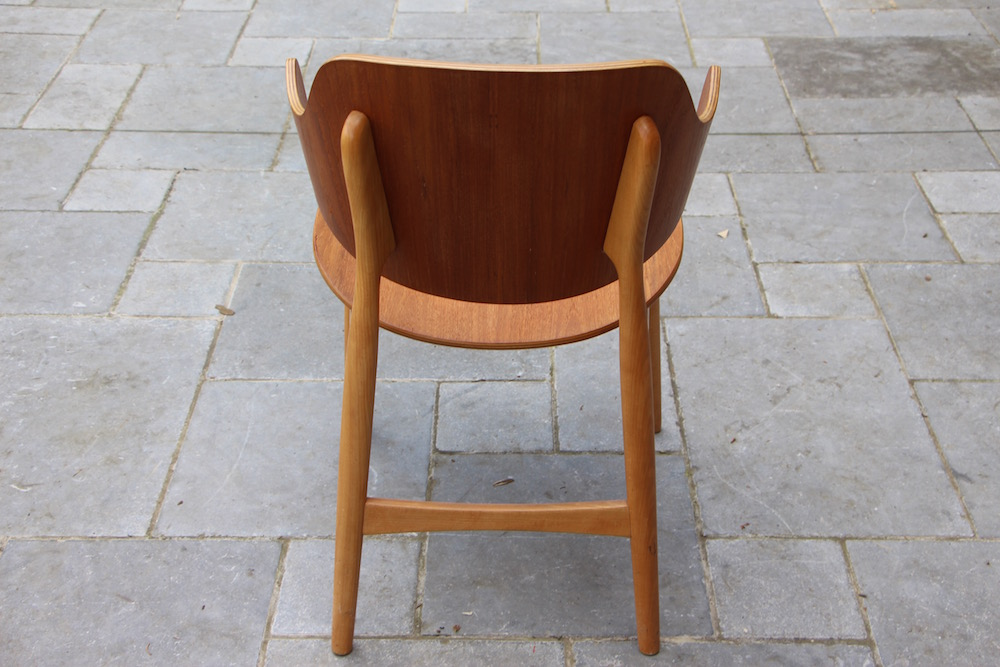 Vintage shell chair by Ib Kofod Larsen