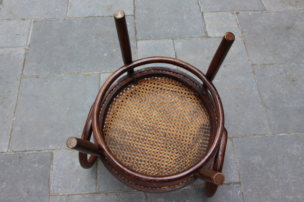 vintage Thonet low chair