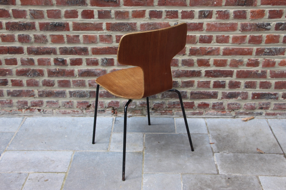 vintage Hammerhead chair by Arne Jacobsen for Fritz Hansen