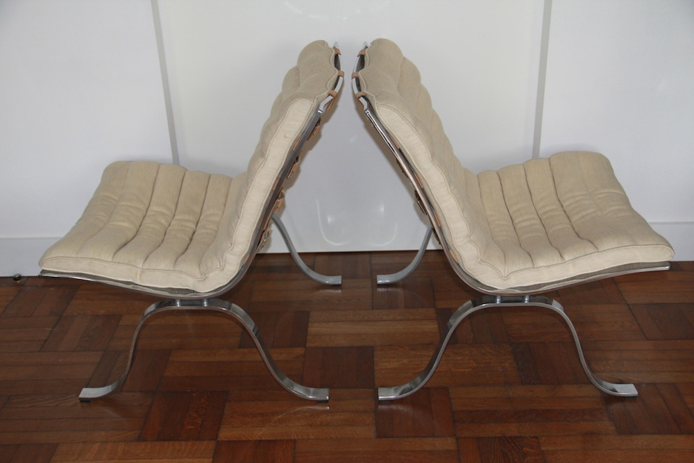 Ari lounge chairs by Norell