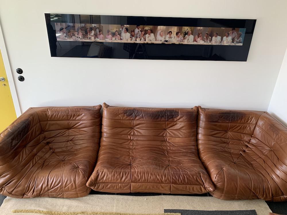 Togo, Togo sofa, ligne Roset, Ducaroy, Michel Ducaroy, vintage sofa, lester sofa, canapé vintage, canapé Togo, living room decoration, sofa, vintage furniture, mobilier vintage, seventies sofa, iconic sofa