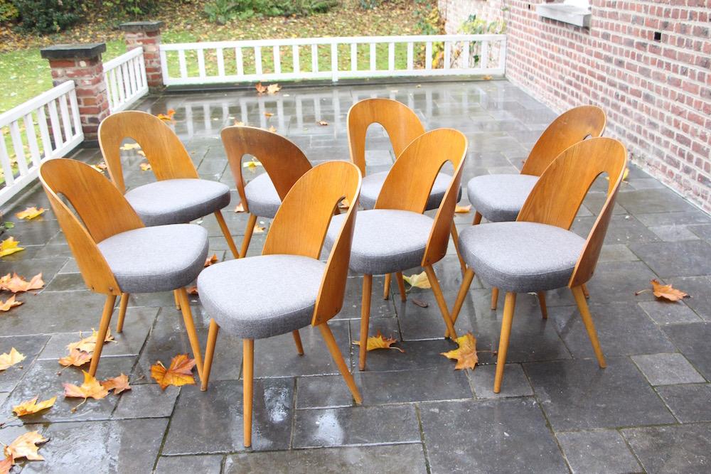 Tatra dining chairs, Thonet, vintage