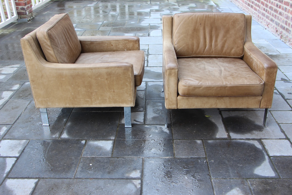 vintage lounge chairs by Hans Könecke for Tecta