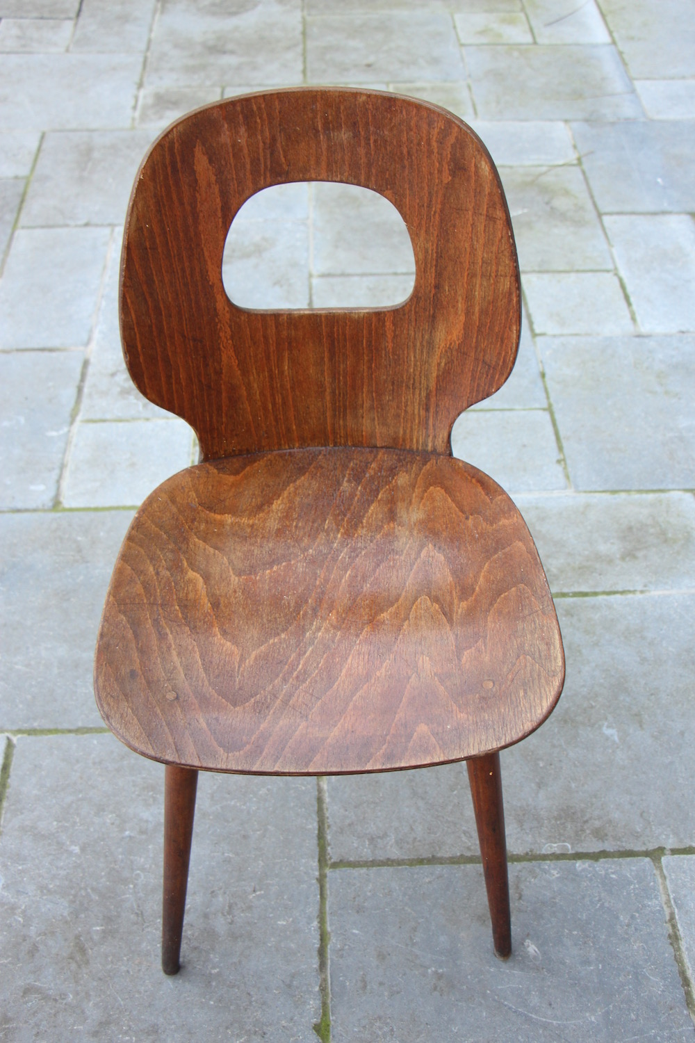 vintage set of Baumann chairs