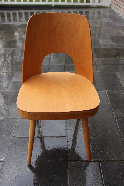Oswald Haerdtl chairs, vintage, Thonet