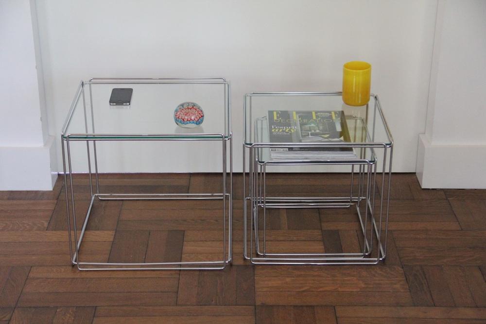 Mas Sauze vintage nesting tables