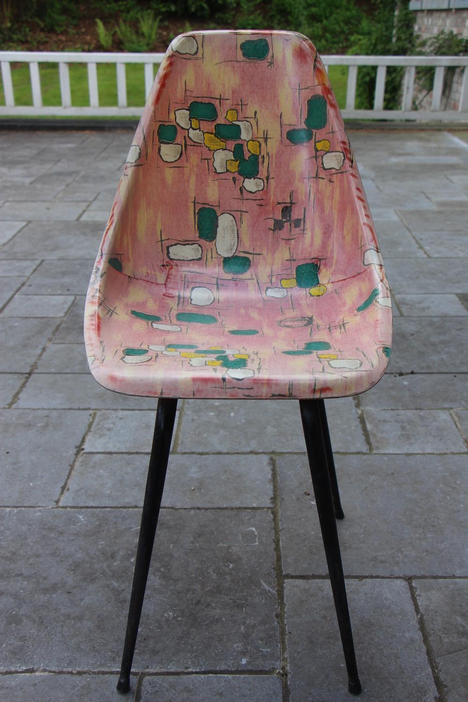 vintage chair, fiberglass