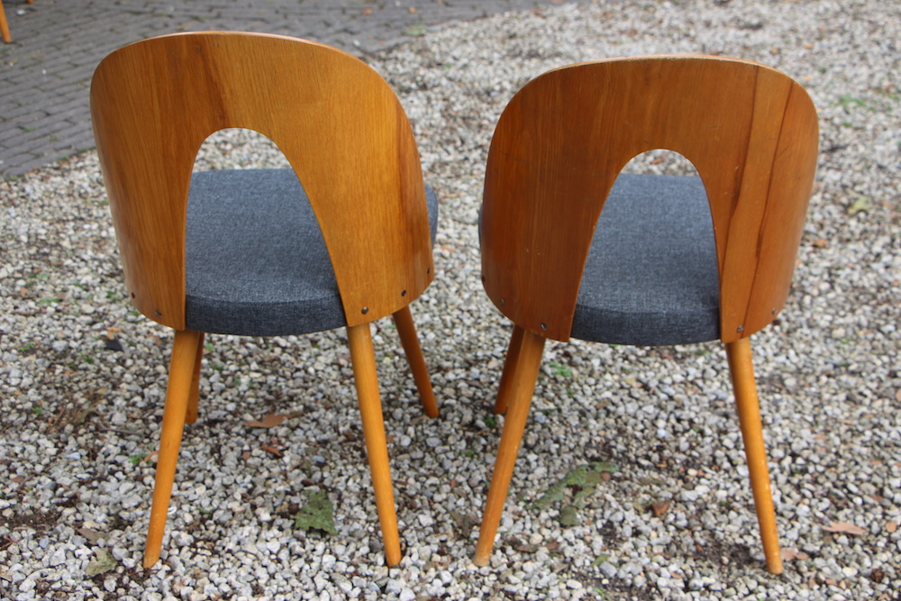 vintage Tatra chairs by Antonin Suman