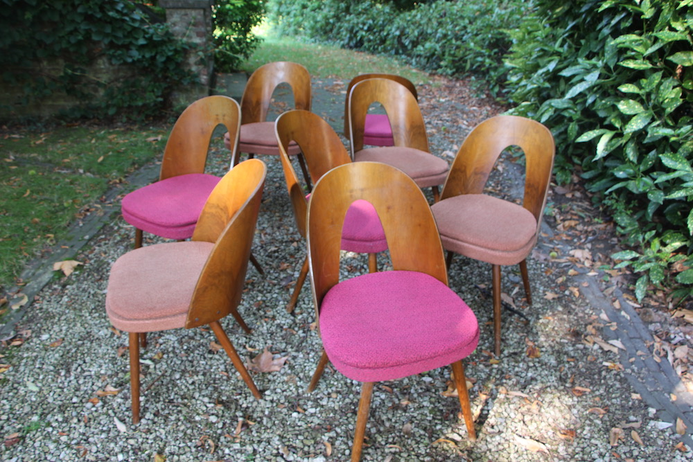 vintage design Tatra chairs by Antonin Suman